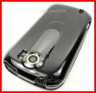 HTC MYTOUCH 4G SLIDE PHONE SMOKE CLEAR HARD COVER CASE