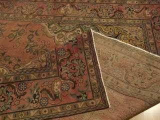 9x12 Beautiful Handmade Antique Persian Tabriz Wool Rug