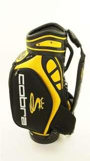 Cobra Staff Golf Bag 9.5 inch mouth 6 way divider Black and Yellow i