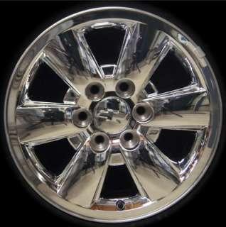 Sierra Yukon Chrome 18 OEM Wheels Rims Chevy Silverado Suburban Tahoe