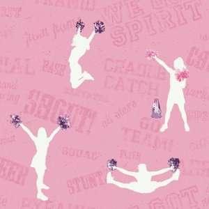 Cheer Pink Wallpaper in Girl Power II: Home Improvement