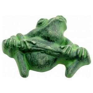 Hickory PA1511 VG Green Frog Verdigris Pewter Rain Forest Cabinet