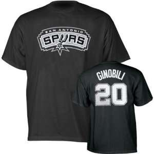 Manu Ginobili San Antonio Spurs Player Number T shirt