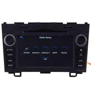 07 10 Honda CRV Car GPS Navigation Radio DVB T TV Bluetooth IPOD