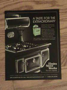ELMIRA STOVE WORKS ADVERTISEMENT VINTAGE ING AD