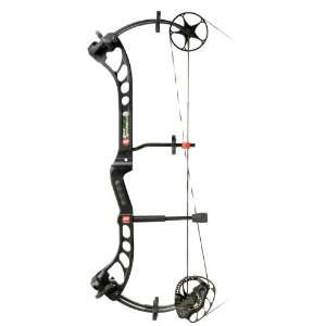 PSE Bow Madness XS Compound Bow Black / Right Hand: Sports