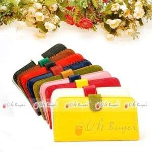 practical lady gril bifold multifunction wallet purse
