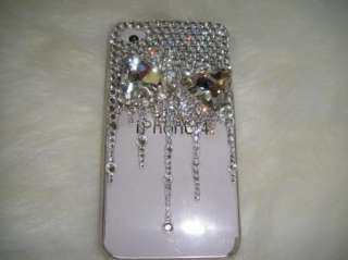 iPhone 4/4s 3d Swarovski Crystal Elements Case