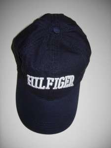Tommy Hilfiger mens womens Navy baseball cap skull hat NWT