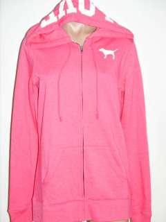 Brand New with Tag Victorias Secret PINK Zip LOVE PINK Animal Print