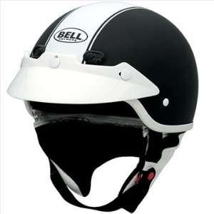 Bell Shorty Rally Motorcycle Half Helmet Black 2X