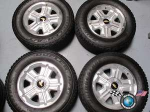 07 10 Chevy Tahoe Factory 18 Wheels Tires OEM Rims 1500 Suburban