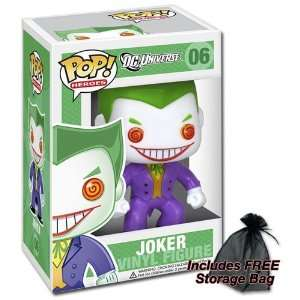Funko Joker POP Heroes with FREE Storage Bag: Toys & Games