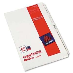 Collated Side Tab Legal Index, Numbers 151 175, 8 1/2x11