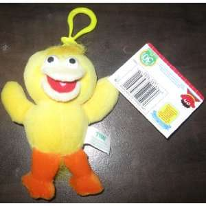 Plush Keychain BIG BIRD Beanie (30th Anniversary) Toys & Games