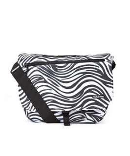 White (White) Yak Pak Zebra Print Shoulder Bag  246136610  New Look
