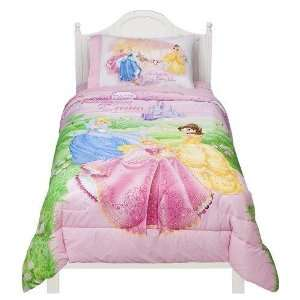 Disney Princess Jeweled Fantasy Comforter   Twin  Home