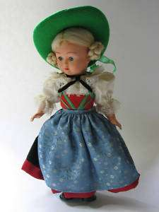 Vintage German Austria Cultural Doll Ethnic Costume 11