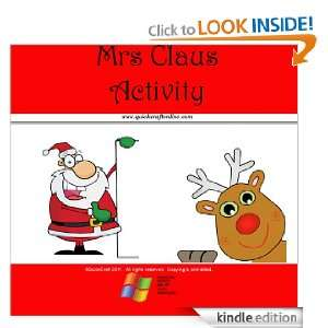 Christmas Craft Kids Mr Claus Activity (QuickCraft) [Kindle Edition]
