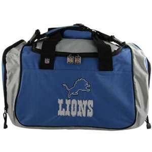 Detroit Lions Nylon NFL Duffel Bag