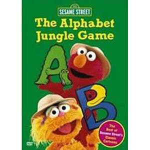 The Alphabet Jungle Game DVD  Shop Ticketmaster Merchandise