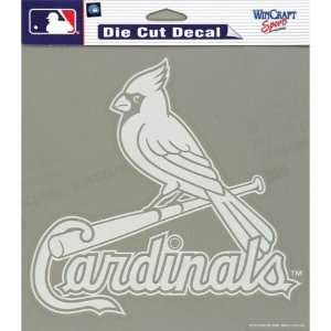 St Louis Cardinals   Logo Cut Out Decal MLB Pro Baseball