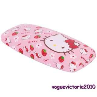 Hello Kitty Design Brillenetui Brillenbox Brillen Hardcase Rosa süß