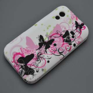 Samsung Galaxy Ace s5830 Schutz Case Tasche Hülle Cover Rosa