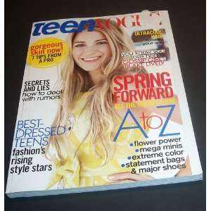 Teen Vogue Magazine March 2008: Blake Lively: Books