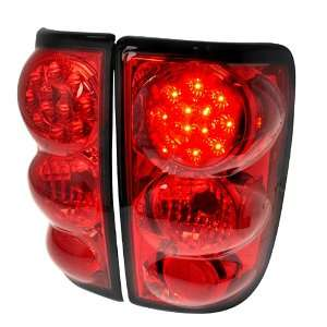 Chevy Gmc Blazer Jimmy Red Led Tail Lights Automotive