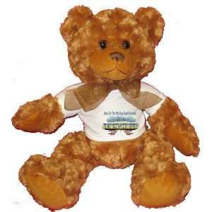 And On The 8th Day God Created AIR TRAFFIC CONTROLLERS Plush Teddy