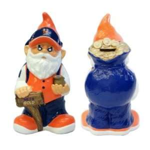 New York Mets MLB Garden Gnome 10 Bank Sports & Outdoors