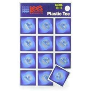 Plastic Tee (12/cd) (Catalog Category Aquarium / Air