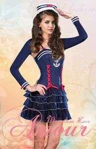 Sexy Sweetheart Sailor Marine Girl Costume Set @G5199