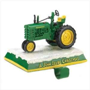 John Deere Tractor Stocking Holder Everything Else