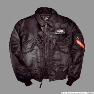 Alpha Industries CWU 45 Jacke Bomberjacke Fliegerjacke Winterjacke M 