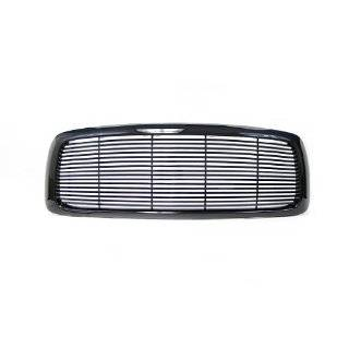 02 05 Dodge Ram Pickup Truck Billet Black Front Grille 1500 2500 3500