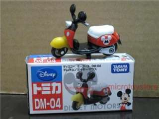 Tomica Disney Motors DM 04 Mickey Mouse Motorcycle