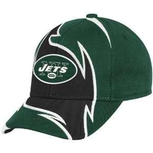 New York Jets Green Black Element Adjustable Hat