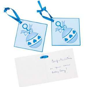 Boy Baby Shower Favor Tags (2 dz): Health & Personal Care