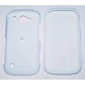 Samsung Omnia i920 smartphone Rubberized Hard Case   White