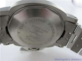 PANERAI LUMINOR 44 GMT PAM 161 WATCH W/BOXES & PAPERS