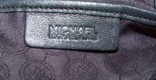 MICHAEL MICHAEL KORS Edie Large Leather Shoulder Bag Purse Handbag