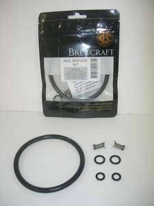Keg Repair Kit Home Brew beer spare parts Pressure& Poppet valves & o