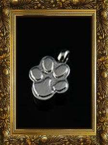 AWESOME DOG,CAT PAW PET / CREMATION PENDANT/ASHES URN