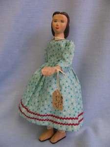 10 Rare Wooden HELEN BULLARD c1959 MISS HOLLY Joined Holly Doll