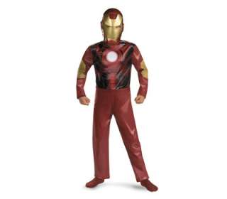 Marvel Iron Man Super hero Boys Child Jumpsuit Mask Halloween Costume