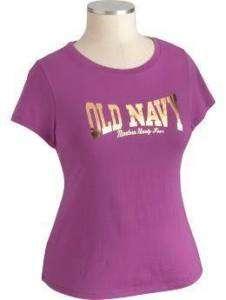 NWT OLD NAVY WOMENS PLUS TOP SHIRT TSHIRT PURPLE 1X 3X