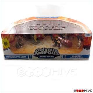Star Wars Galactic Heroes Geonosis Battle Arena dmg box