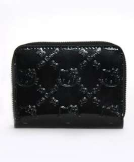 Hello Kitty Small Black Embossed Wallet Loungefly